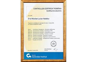 Controller Certificat Romania - Certificat de absolvire